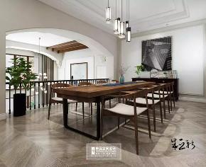 北京申远 别墅装修 别墅 美式 简美 书房图片来自申远空间设计北京分公司在北京申远空间设计-轻美式风格的分享