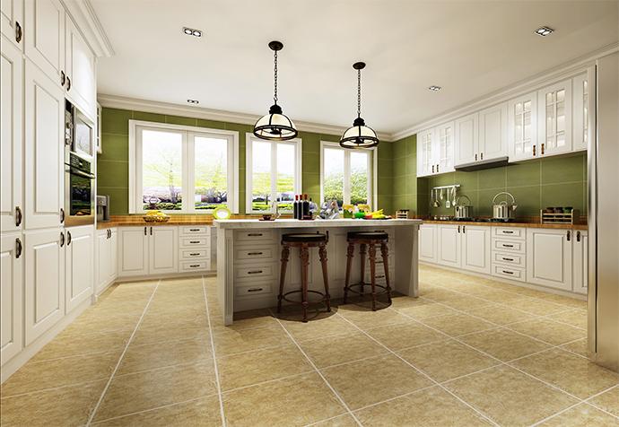 万科白马花 别墅装修 别墅设计 现代风格 厨房图片来自jtong0002在松江区白马花园别墅装修美式风格的分享
