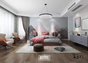 北京申远 别墅装修 别墅 美式 简美 卧室图片来自申远空间设计北京分公司在北京申远空间设计-轻美式风格的分享