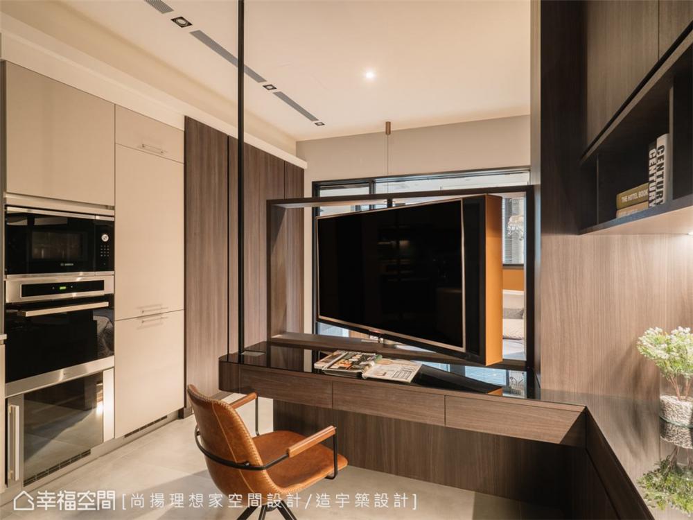 装修设计 装修完成 现代风格 厨房图片来自幸福空间在26平,现代清韵  全机能小宅的分享