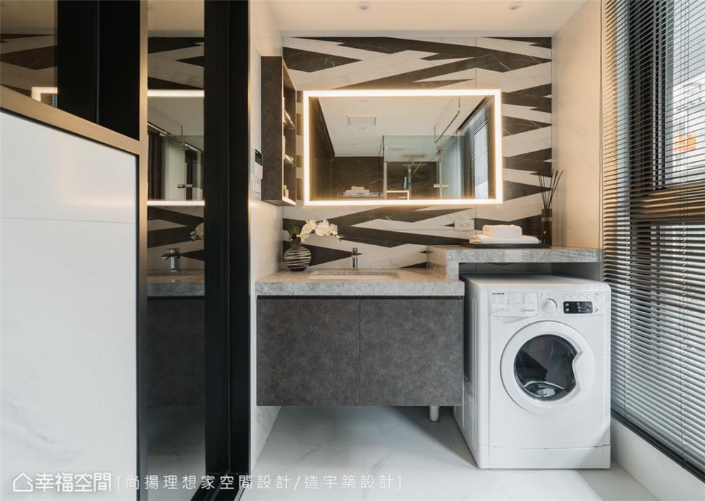 装修设计 装修完成 现代风格 卫生间图片来自幸福空间在26平,现代清韵  全机能小宅的分享