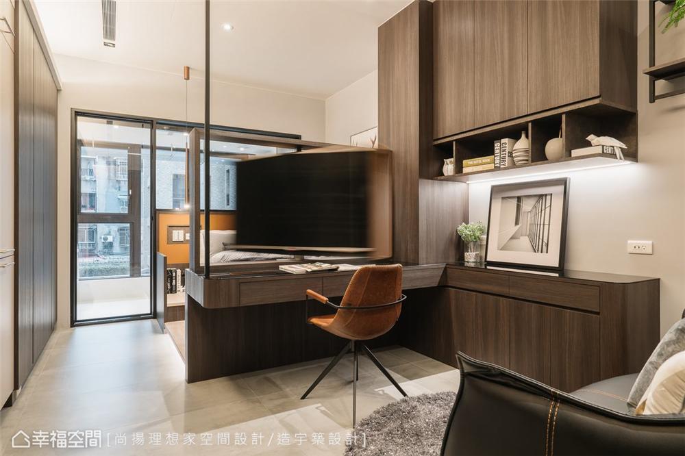 装修设计 装修完成 现代风格 客厅图片来自幸福空间在26平,现代清韵  全机能小宅的分享