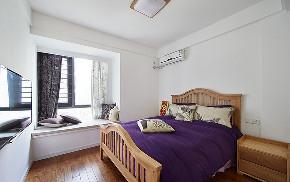 欧式 峰光无限 三室 卧室图片来自我是小样在蓝光公园华府三室110平北欧风格的分享