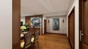 美式 玄关图片来自晋级装饰潘露在晋级装饰——金地名悦143平米的分享