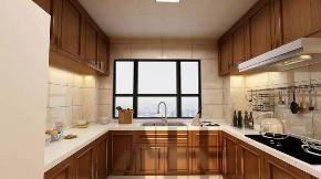 美式 厨房图片来自晋级装饰潘露在晋级装饰——金地名悦143平米的分享