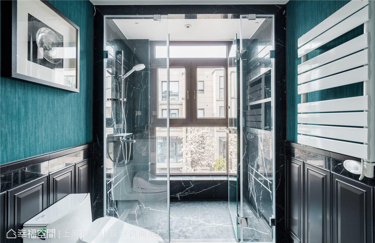 混搭 四居 上海 小资 卫生间图片来自幸福空间在230㎡如歌如诗的雪域星城的分享