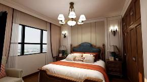 美式 卧室图片来自晋级装饰潘露在晋级装饰——金地名悦143平米的分享