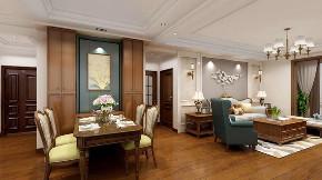 美式 餐厅图片来自晋级装饰潘露在晋级装饰——金地名悦143平米的分享