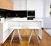 简洁、实用、省钱,是现代简约风格的基本特点,玉溪现代简约风格厨房效果图