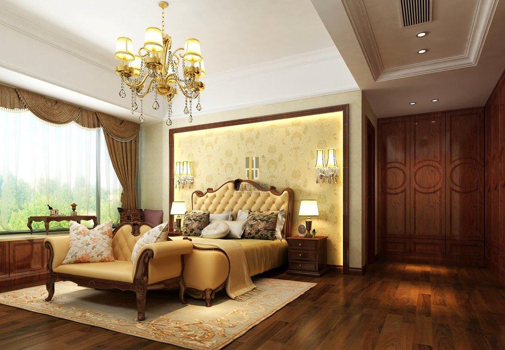 图片来自广州市品壹装饰在198平的欧式设计,空间美如画的分享