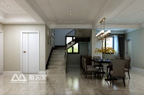 新中式 斯为美装饰 80后 楼梯图片来自银川斯为美装饰在银川斯为美装饰 中瀛御景新中式的分享