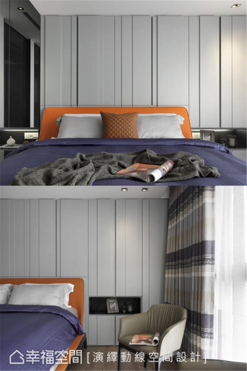 装修设计 装修完成 现代风格 卧室图片来自幸福空间在198平,现代新东方 幸福之家的分享
