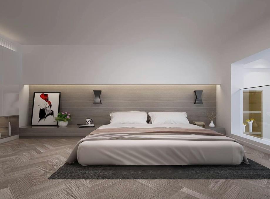 简约 客厅 卧室图片来自今朝今时在复式的分享