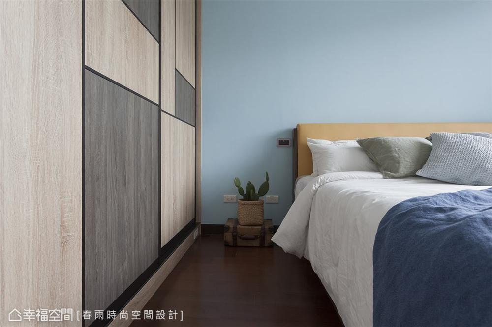 装修设计 装修完成 混搭 卧室图片来自幸福空间在175平,北欧现代 简净舒适宅的分享