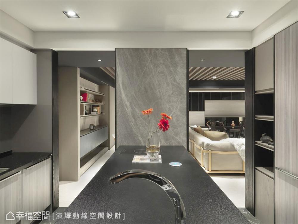 装修设计 装修完成 现代风格 厨房图片来自幸福空间在198平,现代新东方 幸福之家的分享