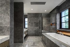 简约 别墅 卫生间图片来自沈院在关于家的分享