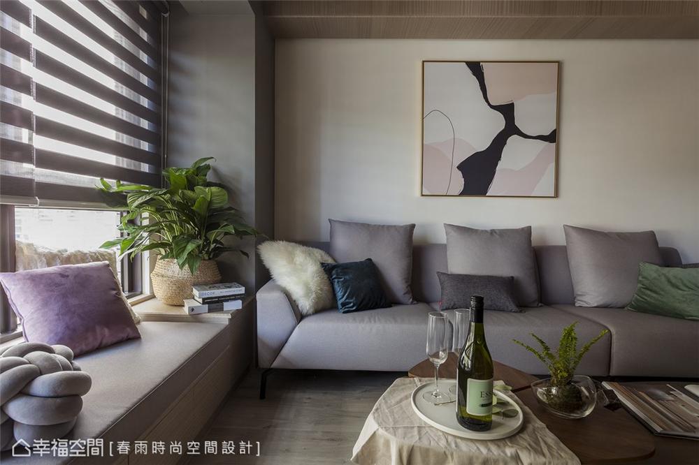 装修设计 装修完成 休闲多元 客厅图片来自幸福空间在99平,拼贴北欧镜幻森林宅的分享