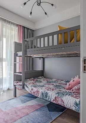 儿童房图片来自家装大管家在89平现代时尚家 黑白灰也是美的分享