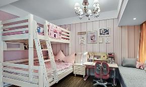 儿童房图片来自家装大管家在浓淡两相宜 180平轻奢新中式3居的分享