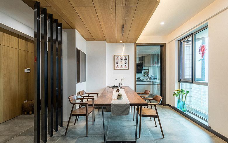 餐厅图片来自家装大管家在化繁为简 160平简欧混搭雅致3居的分享