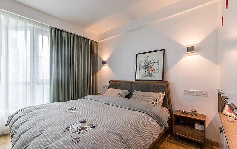 卧室图片来自家装大管家在化繁为简 160平简欧混搭雅致3居的分享