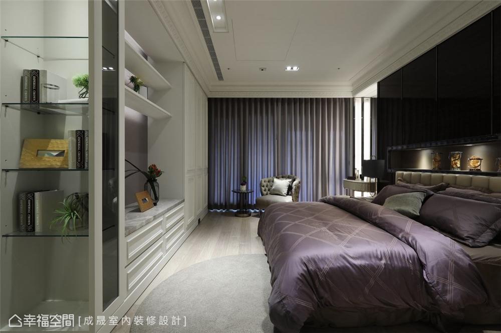 装修设计 装修完成 新古典 卧室图片来自幸福空间在380平,磅礡大气  新古典奢华宅的分享