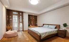 简约 日式 原木色 三居 白领 收纳 旧房改造 80后 小资 卧室图片来自北京今朝装饰在原木的清新淡雅贯穿全屋的分享