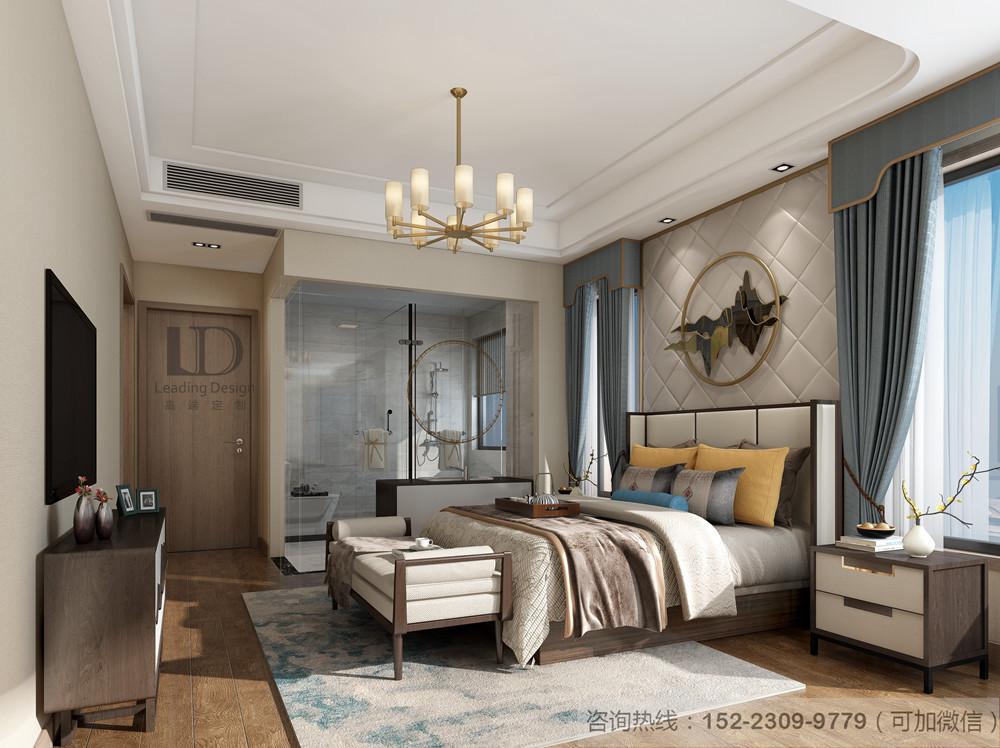 二居 白领 小资 设计 兄弟装饰 卧室图片来自兄弟装饰-蒋林明在龙湖舜山府130平户型设计方案的分享