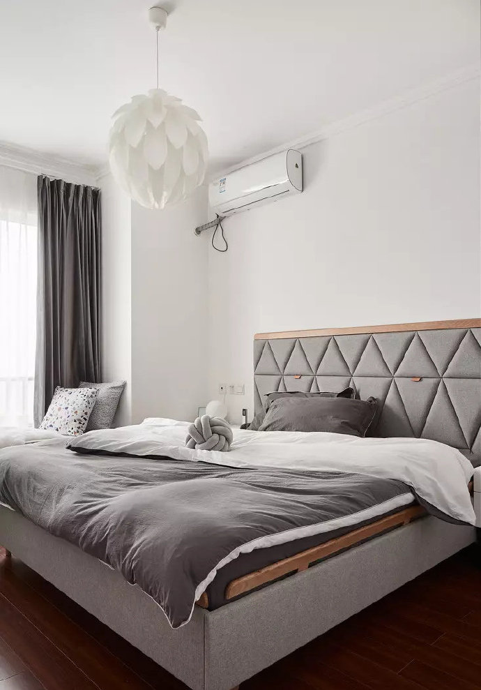 混搭 三居 白领 收纳 旧房改造 80后 小资 卧室图片来自北京今朝装饰在美式与北欧混搭出的小清新之家的分享