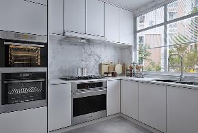 简约 三居 白领 80后 厨房图片来自山东济南尚舍别墅装饰在邦泰绿苑的分享