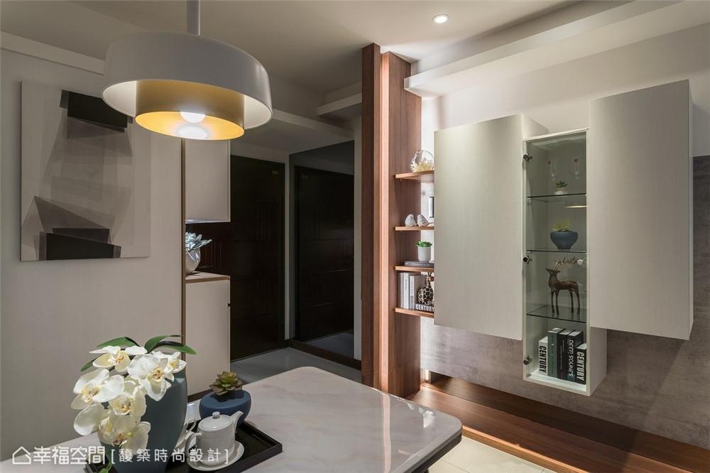 装修设计 装修完成 现代风格 餐厅图片来自幸福空间在56平,时尚构型 演绎简约现代宅的分享
