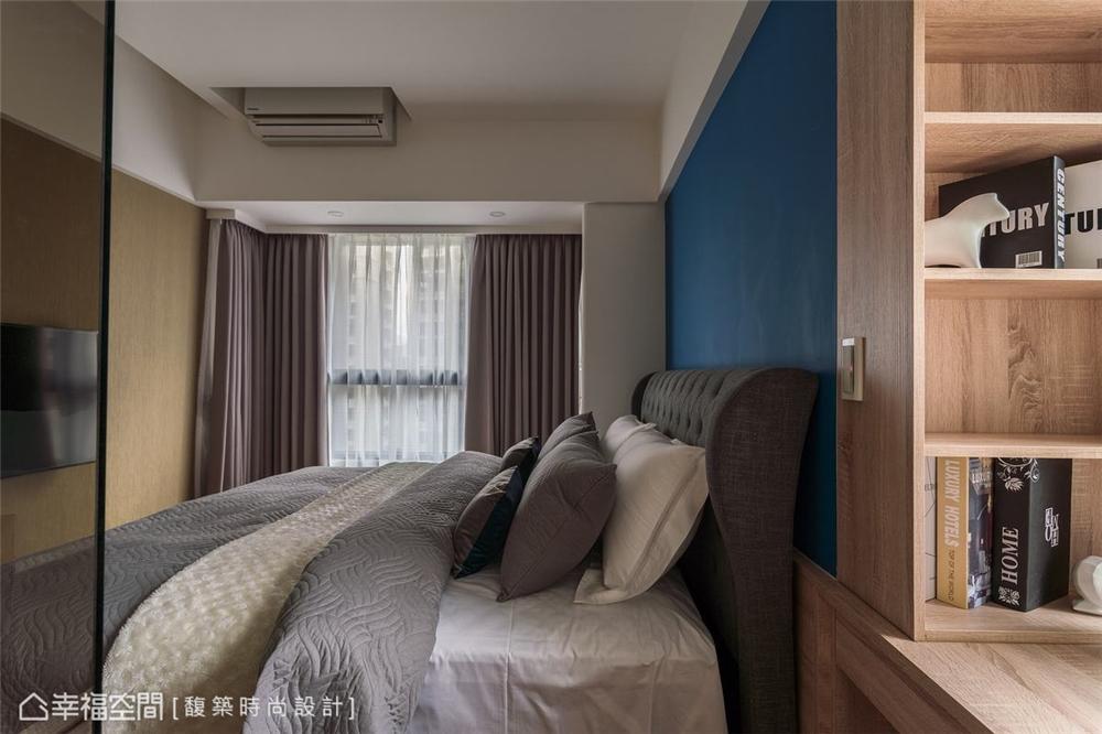 装修设计 装修完成 现代风格 卧室图片来自幸福空间在56平,时尚构型 演绎简约现代宅的分享