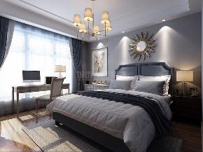 现代美式 西安装修 复式 装修公司 小资 卧室图片来自西安城市人家装饰王凯在138平美式,一见倾心 自由灵动的分享