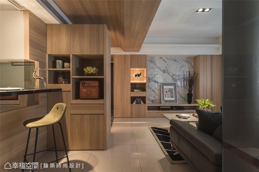 装修设计 装修完成 休闲多元 餐厅图片来自幸福空间在159平,自然系木质休闲宅的分享
