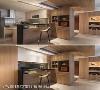 弹性隔间材料 汤镇安设计师运用卷帘与木片拉门做出餐厨空间的区分,提供餐厨空间具有弹性与开阔的视野。