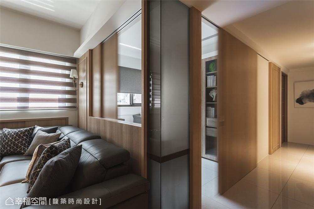装修设计 装修完成 休闲多元 客厅图片来自幸福空间在159平,自然系木质休闲宅的分享