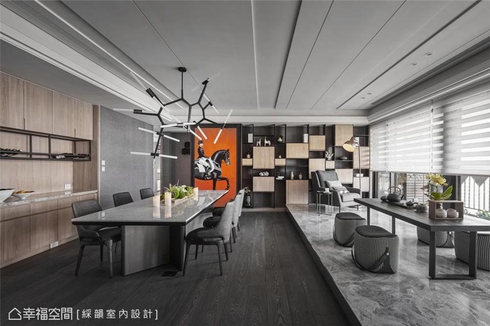装修设计 装修完成 现代风格 古典风格 餐厅图片来自幸福空间在331平,真实的生活感 精品空间的分享