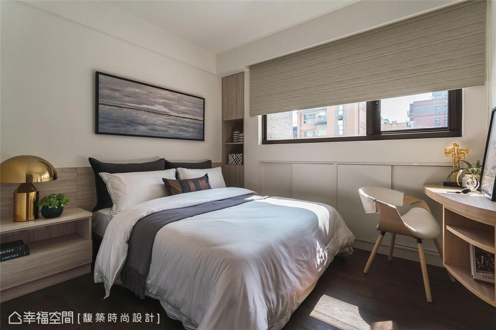 装修设计 装修完成 休闲多元 卧室图片来自幸福空间在159平,自然系木质休闲宅的分享