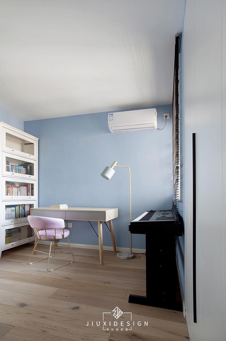二居 三居 收纳 旧房改造 北欧 久栖设计 家装设计 两居改三居 儿童房图片来自久栖设计在三段式8m储物长条客厅高效利用法的分享