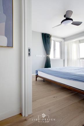 二居 三居 收纳 旧房改造 北欧 久栖设计 家装设计 两居改三居 卧室图片来自久栖设计在三段式8m储物长条客厅高效利用法的分享