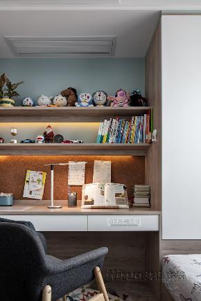 儿童房图片来自鸿扬家装武汉分公司在万科翡翠国际140雅致灰调的分享