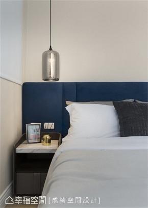 装修设计 装修完成 新古典 卧室图片来自幸福空间在56平,纯净隽雅 新古典美学的分享