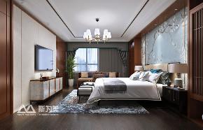 别墅 新中式 斯为美装饰 卧室图片来自银川斯为美装饰在斯为美装饰 玺云台300平的分享