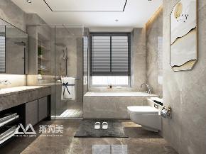 别墅 新中式 斯为美装饰 卫生间图片来自银川斯为美装饰在斯为美装饰 玺云台300平的分享