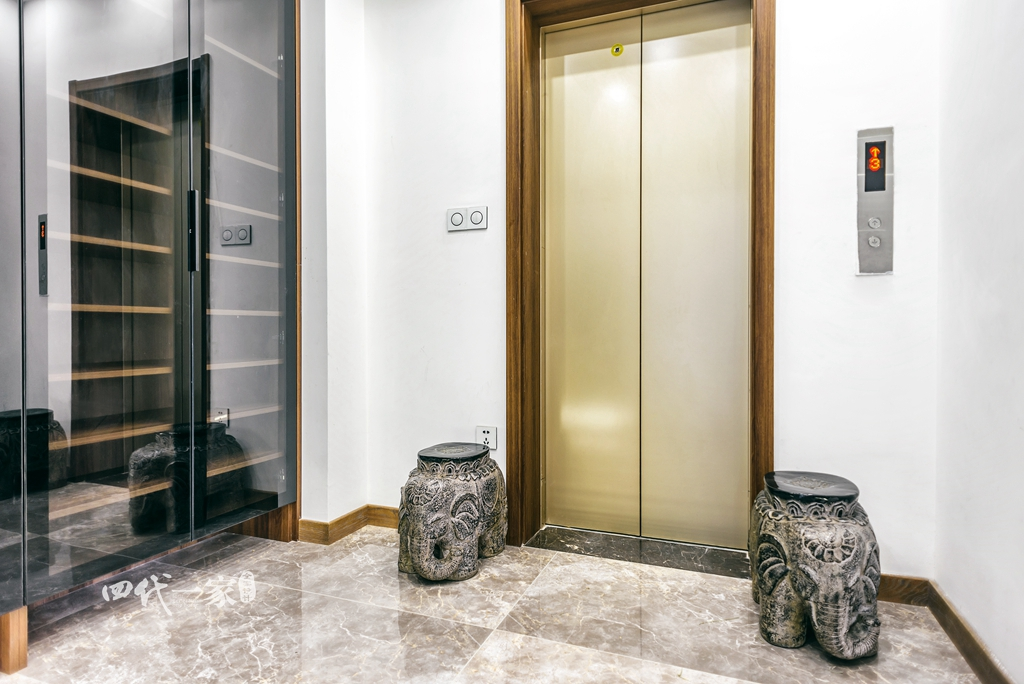 简约 现代 小资 收纳 四室 玄关图片来自兄弟装饰-蒋林明在万科悦湾大平层设计,200平完工图的分享