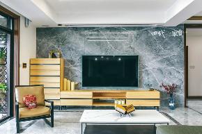 简约 现代 小资 收纳 四室 客厅图片来自兄弟装饰-蒋林明在万科悦湾大平层设计,200平完工图的分享