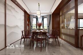 别墅 新中式 斯为美装饰 餐厅图片来自银川斯为美装饰在斯为美装饰 玺云台300平的分享