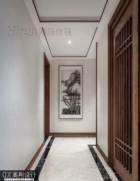 收纳 小资 其他图片来自鸿扬家装武汉分公司在名邸公馆180平写意木构的分享