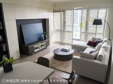 79平,现代新古典 舒适宽敞美宅