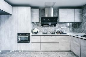 简约 现代 小资 收纳 四室 厨房图片来自兄弟装饰-蒋林明在万科悦湾大平层设计,200平完工图的分享